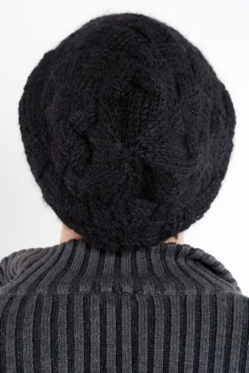 BLACK MARSHMALLOW FLOP
