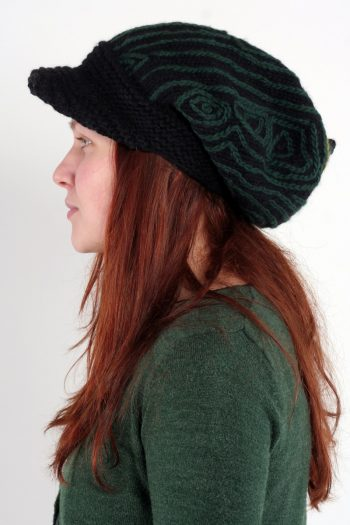 BLACK GREEN TRACKS BRIM FLOP