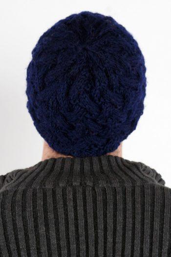 BLUE X-PATTERN SHORT