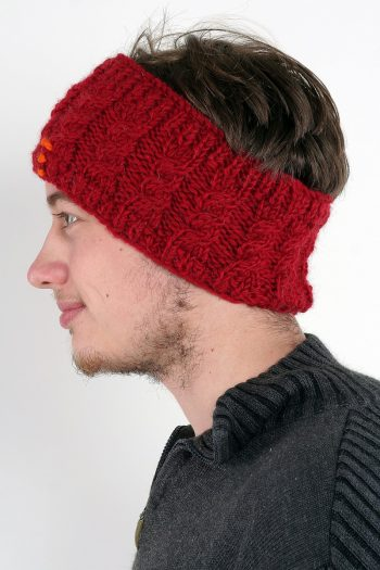 RED CABLE HEADBAND
