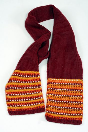 RED YELLOW STEP SCARVE