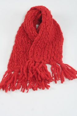 DARK ORANGE TUBE TT SCARF