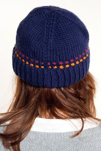 BLUE ORANGE BRIM SHORT