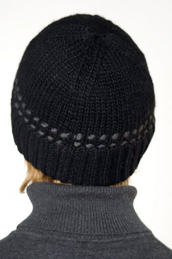 BLACK DARK GREY BRIM SHORT
