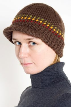 BROWN RASTA BRIM SHORT