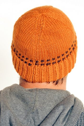 TAN BROWN BRIM SHORT