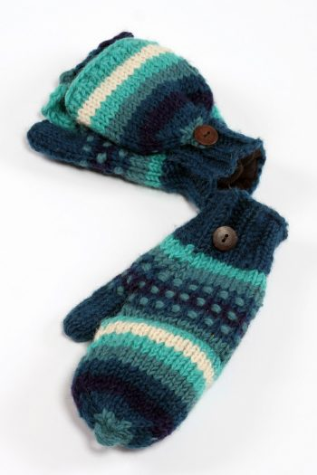TROPICAL RAINBOW COVER MITTENS