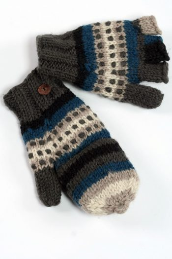 SKY RAINBOW COVER MITTENS