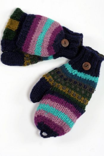WATER RAINBOW COVER MITTENS