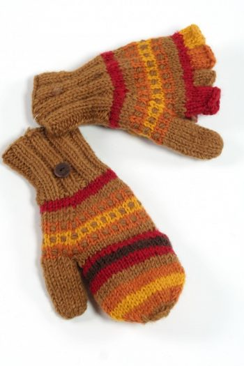 EARTH RAINBOW COVER MITTENS