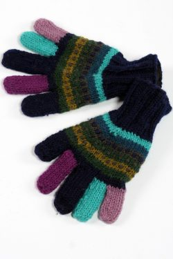 WATER RAINBOW 5 FINGER GLOVES