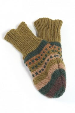JUNGLE RAINBOW LOVE MITTENS