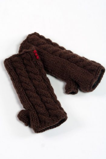 BROWN CABLE TUBE HANDWARMERS