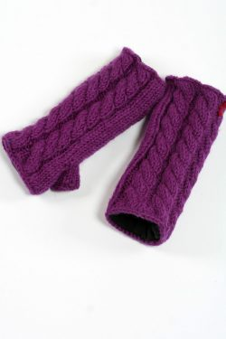 PURPLE CABLE TUBE HANDWARMERS