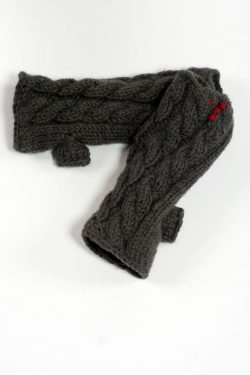 DARK GREY CABLE TUBE HANDWARMERS