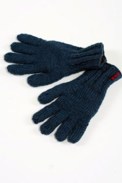 PETROL PLAIN 5 FINGER GLOVES