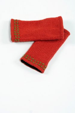 DARK ORANGE KHAKI 2 LINES TUBE HANDWARMERS