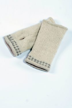 WHITE LIGHT GREY 2 LINES TUBE HANDWARMERS