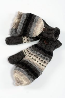 SHADOW RAINBOW COVER MITTENS