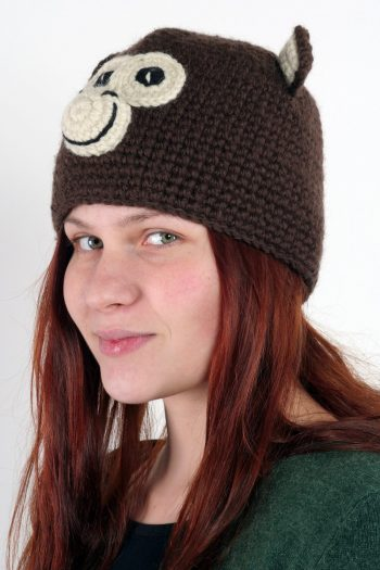 MONKEY ANIMAL HAT