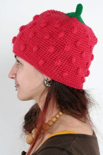 STRAWBERRY FUNNY HAT