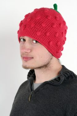 STRAWBERRY FUNNY HAT