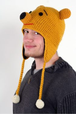 POOH ANIMAL HAT