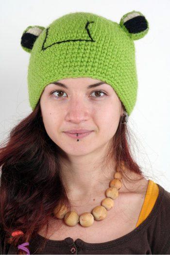FROG ANIMAL HAT